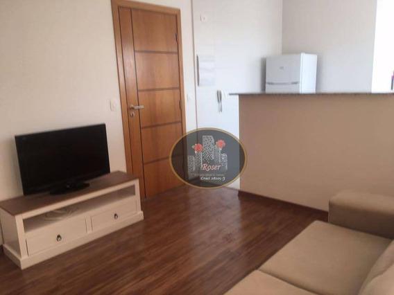 Apartamento Com 1 Dormitório À Venda, 58 M² Por R$ 330.000,00 - Encruzilhada - Santos/sp - Ap2986