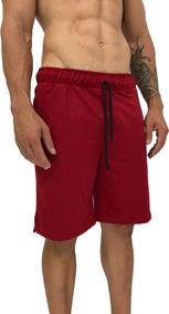 Bermuda Moleton Masculina Listrada Shorts Rajada Cores Mxd