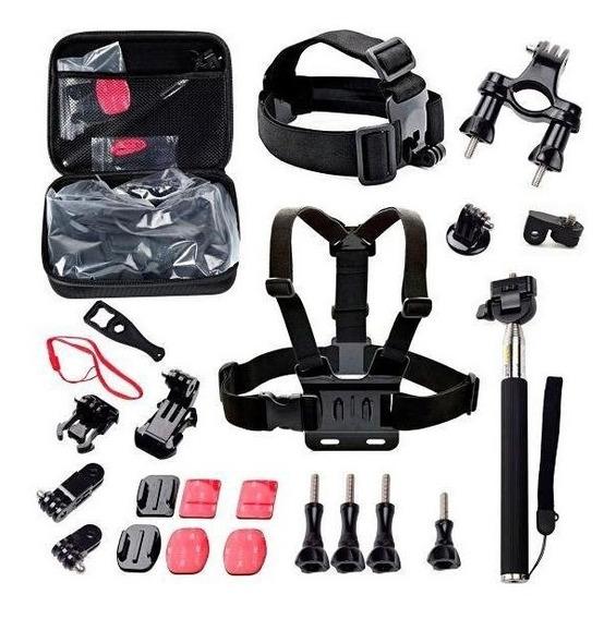 Kit De Acessórios Para Gopro Sport Quanta Qtsca-602
