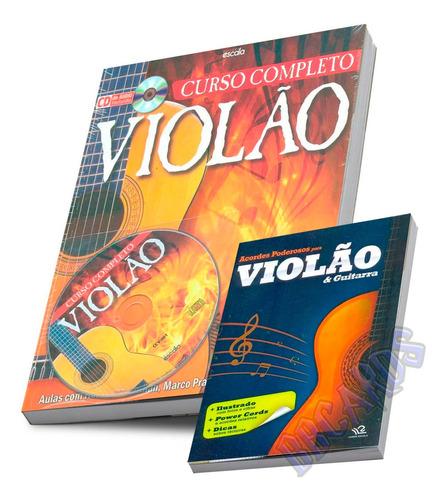 Imagem 1 de 10 de Curso Completo Violão Livro + Cd Áudio Método Renovador