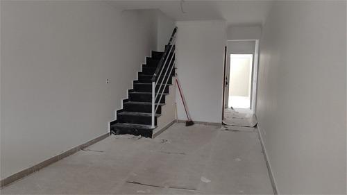 Imagem 1 de 15 de Sobrado Novo Para Venda Com 03 Dormitórios, Sendo 01 Suíte E 02 Vagas No Campo Grande - Reo578357