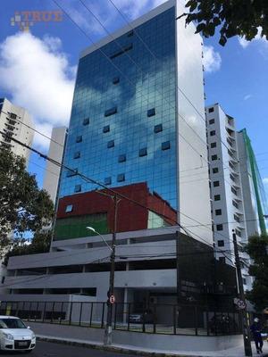 Sala Comercial Para Venda Ou Locação, Tamarineira, Recife. - Sa0113