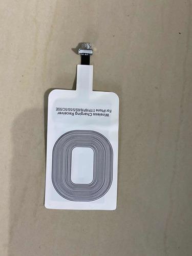 Receptor Qi Wireless Sem Fio iPhone 5 5c 5s 6 6s 7 E Plus