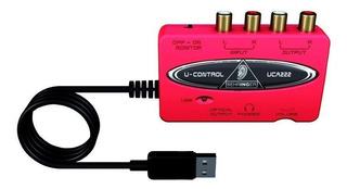 Interface De Audio Behringer U-control Uca222 (60v)
