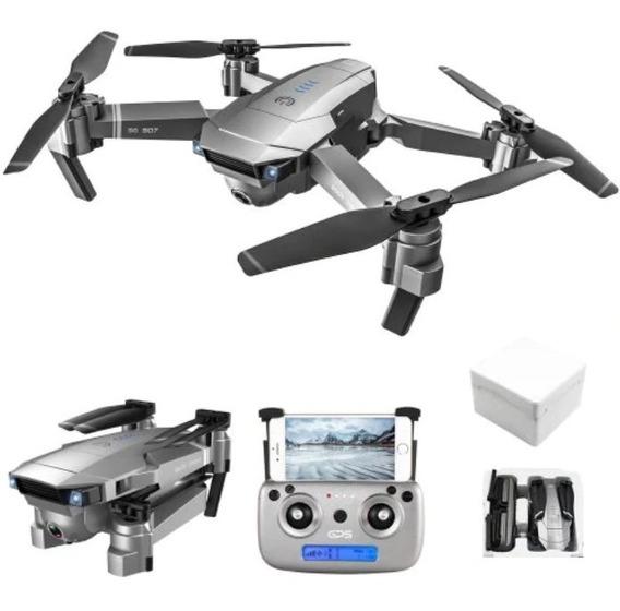 Drone Gps Mavic 1080p 5g Wifi-18min-650 Metros - + 1 Bateria