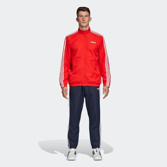 Pants Y Sudadera adidas 3franjas Woven Cuffed Original Nuevo