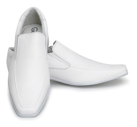 Sapato Masculino Branco Enfermeiro Dentista Médico - 0261