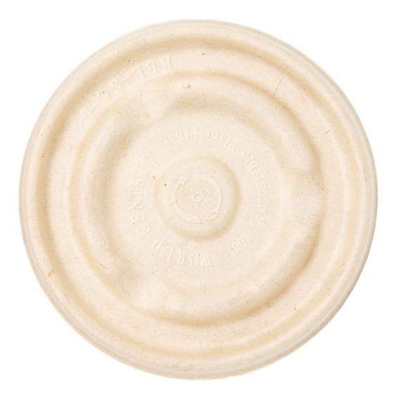 Tapa Para Tazón 16 Oz Paja De Trigo Desechable Biodegradable