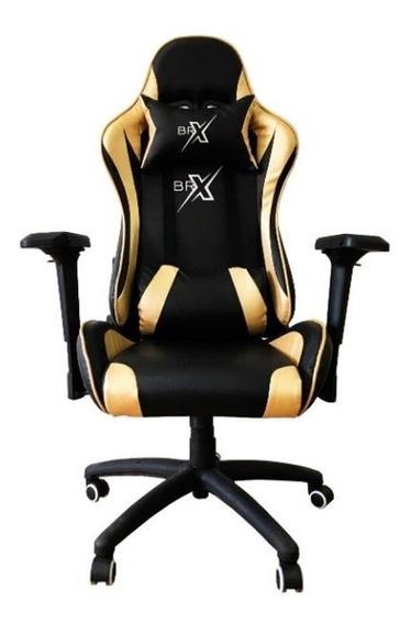 Cadeira Gamer Br-x D-322 Gold