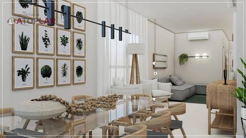 Apartamento Com 2 Suítes À Venda, 93 M² Por R$ 976.000 - Centro - Balneário Camboriú/sc - Ap1961