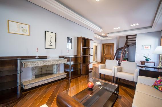 Cobertura Em Petrópolis Com 4 Dormitórios - Sc10526