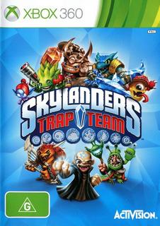 Jogo Skylanders Trap Team Xbox 360 Somente Mídia Dvd