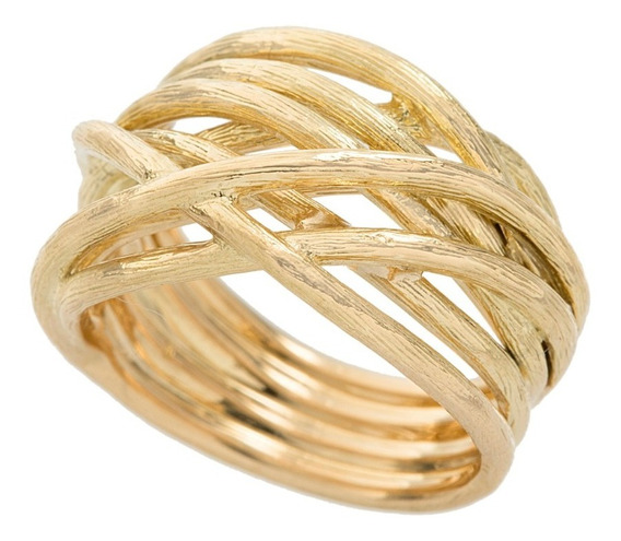 Anel H.stern Ouro Amarelo