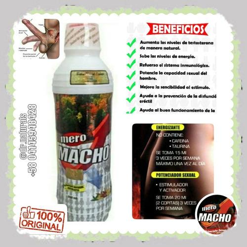 Imagen 1 de 2 de Bebida Energizante Mero Macho  Aproveche Original Únicos