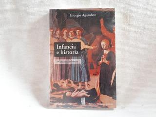 Infancia E Historia Giorgio Agamben Adriana Hidalgo
