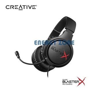 Audifono C/microf. Creative Sound Blaster X H3 Black Gaming