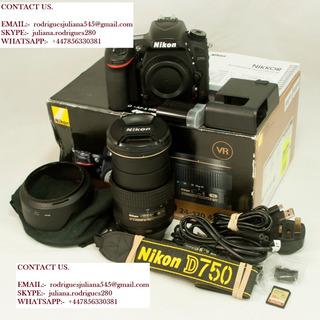 Nikon D750 Camera + 24-120mm Lente
