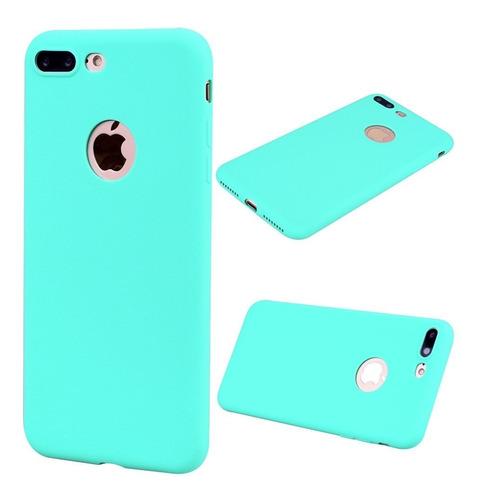 Protector Funda Tpu Verde Menta  iPhone 5 5s Se 6 6p 7 7p