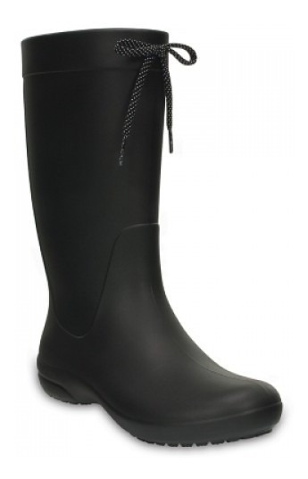 Botas De Lluvia Crocs Freesail Rain Boot Negr Dama 203541001