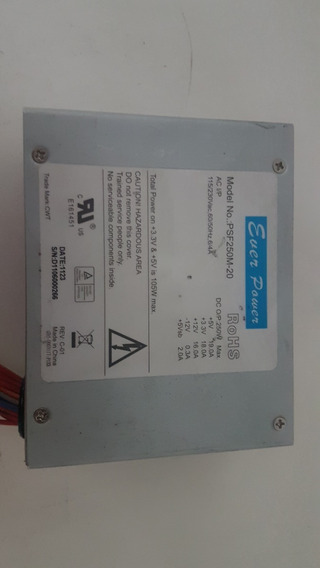 Fonte Ever Power 250w - Psf250m-20