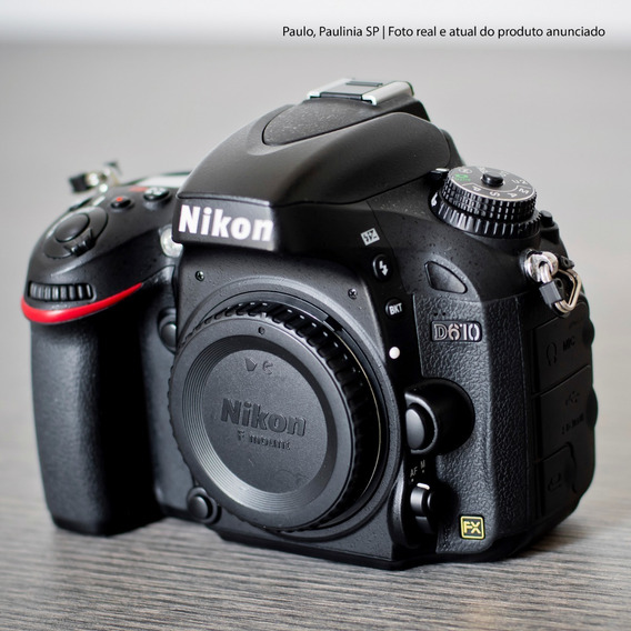 Câmera Nikon D610 31 Mil Cliques (impecável)