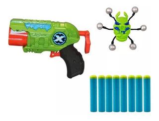 Pistola Arma Juguete X-shot 4815 Shot Bug Attack Predator
