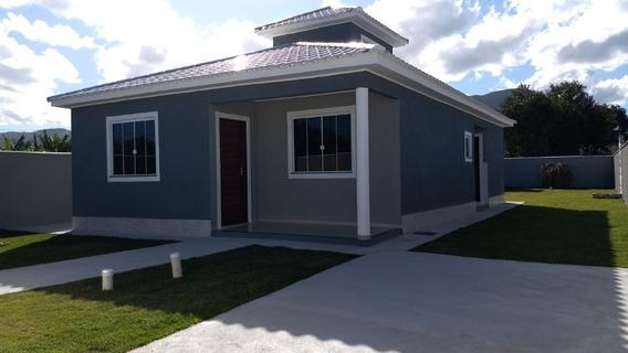 Casa Em Itaipuaçu Com 3 Quartos E Churrasqueira - 477