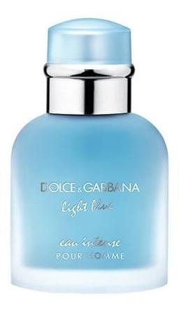 Perfume Light Blue Intense Pour Homme Edt 125 Leia Descrição