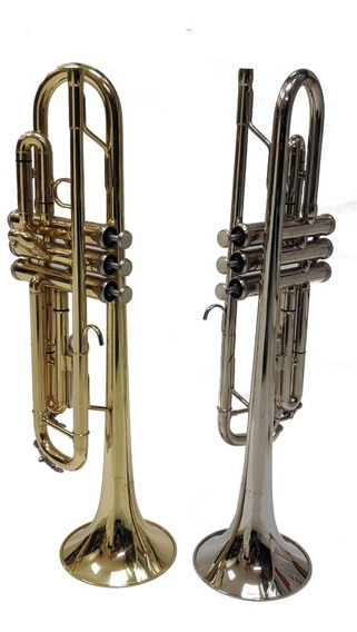 Trompeta Niquelada/dorada Karoly Japonesa Al Por Mayor Y Men
