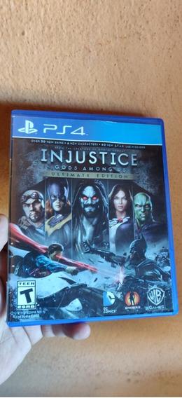 Injustice Gods Amongus Ps4 Midia Fisica Semi Novo
