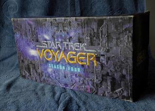 Star Trek Voyager - Caixa Decorativa Para Vhs