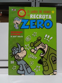 Gibi Hq Livro De Ouro Do Recruta Zero Mort Walker