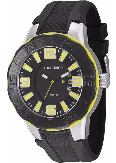 Relógio Masculino Mondaine 62018g0mbnu2 Analógico Preto