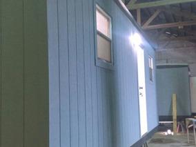 Remolque Movil De 8x28 Pies Oficina Camper Caseta Wc Y Priv