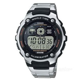 Reloj Hombre Casio Ae-2000wd-1a Sumergible Envio Gratis