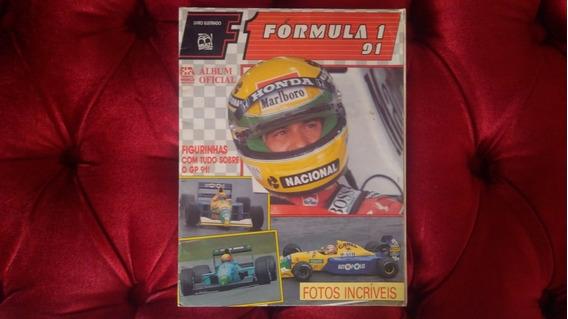Álbum Figurinhas Formula 1 De 1991 - Original Incompleto