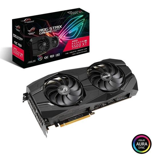 Tarjeta De Video Asus Rx 5500 Xt Ddr6 8gb Rog Strix Gaming