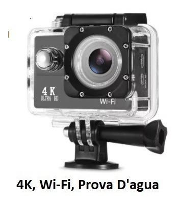 Action Cam Go Sport Pro Wi-fi Lcd 4k 1080p Prova D