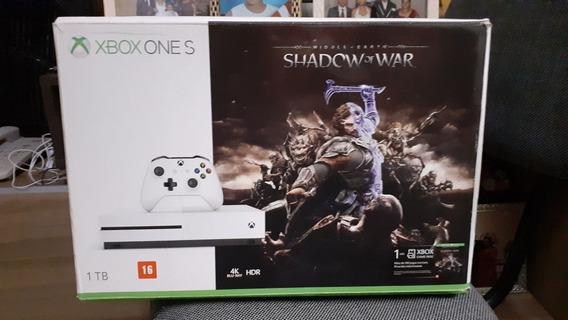 Xbox One S 1tb (branco)
