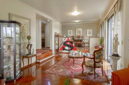 Apartamento Com 3 Dormitórios À Venda, 176 M² Por R$ 1.580.000,00 - Moema - São Paulo/sp - Ap41601