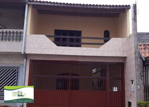 Casa Com 4 Dormitórios À Venda, 161 M² Por R$ 430.000 - Portal Das Alamedas - Franco Da Rocha/sp - Ca0436