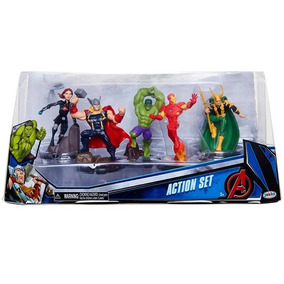 Domo Os Vingadores Kit 5 Personagens Action Set Sunny
