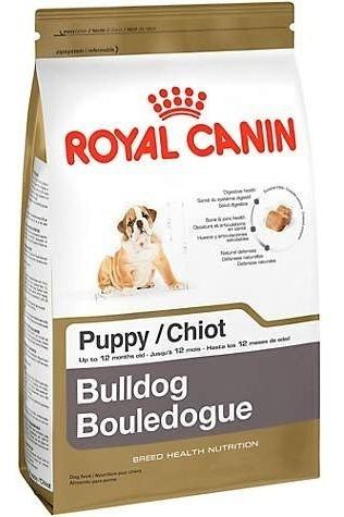 Croquetas Alimento Perro Cachorro Bulldog 13.6kg Royal Canin