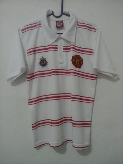 Camiseta Polo Chivas Vs Manchester United Envio Gratis!!!