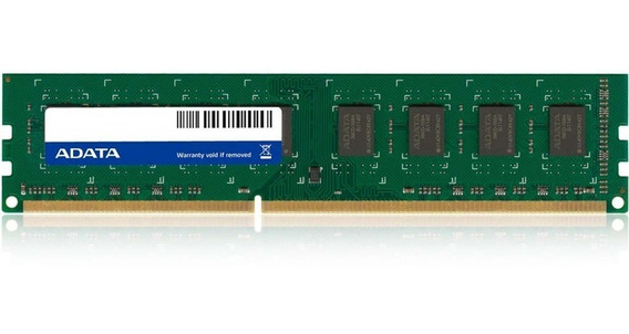 Memoria Ram Pc Gamer 8gb Adata Ddr3 1600 Mhz