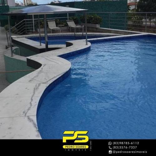 (oportunidade)   Apartamento Com 4 Dormitórios À Venda, 235 M² Por R$ 960.000 - Bessa - João Pessoa/pb - Ap4450
