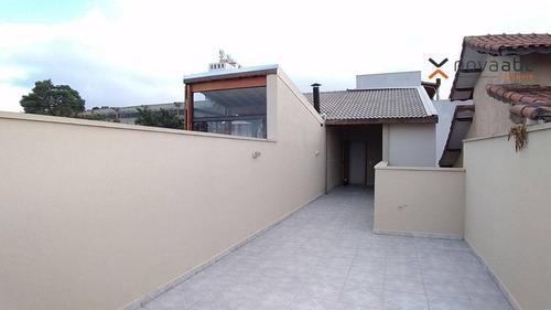 Cobertura Com 2 Dormitórios À Venda, 60 M² Por R$ 380.000 - Vila Francisco Matarazzo - Santo André/sp - Co1130