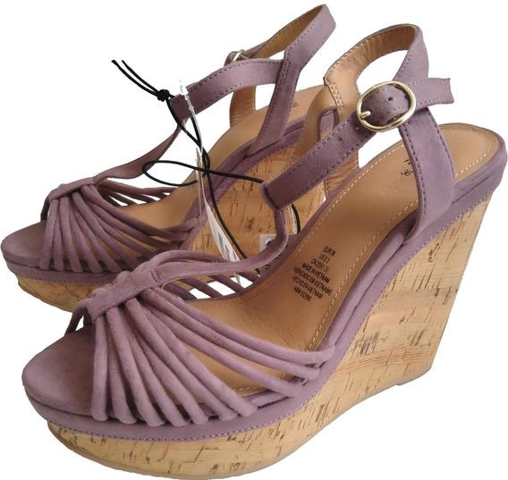 Zapato De Plataforma Para Dama H&m Nuevos