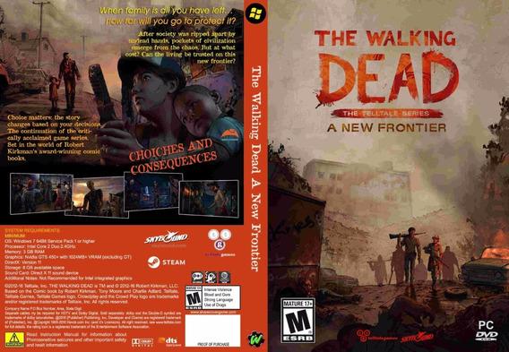 The Walking Dead A New Frontier Pc (mídia Física)