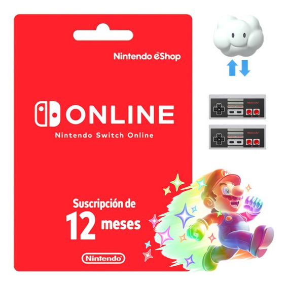 12 Meses | Nintendo Switch Online